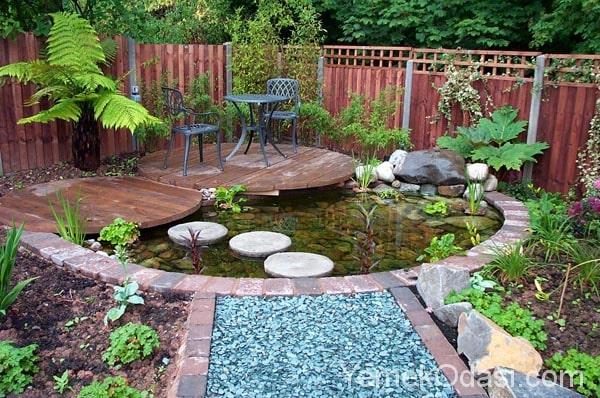Bahçenizi Açacak Dekoratif Havuz Fikirleri 1
