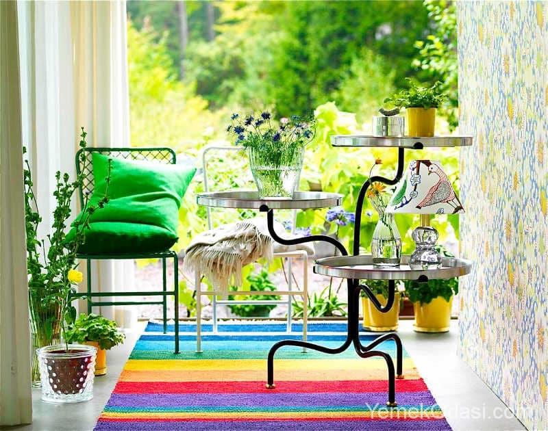 Balkon Dekore Edilirken Dikkat Edilmesi Gerekenler 1
