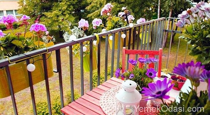 Balkon Dekore Edilirken Dikkat Edilmesi Gerekenler 9