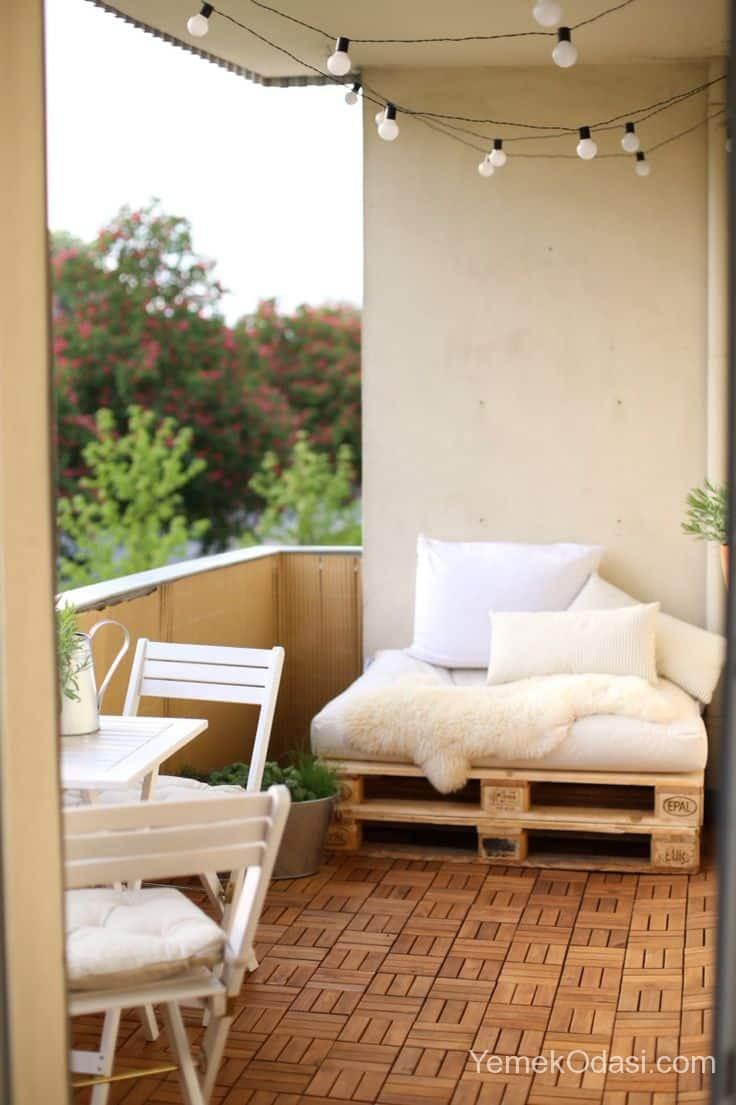 Balkon dekorasyon fikirleri yemek odas ve dekorasyon for Balkon dekorieren