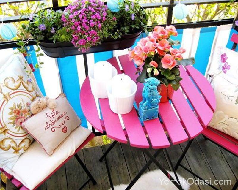 Balkonunuzu Renklendirmeniz İçin 9 Tavsiye 1