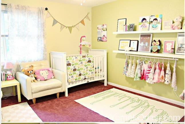 Çocuk Odası İçin Yaratıcı Depolama Fikirleri 1