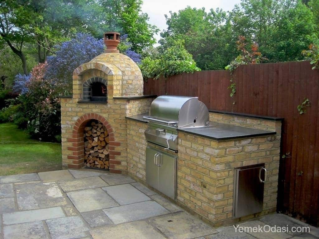 En ok tutan bah e dekorasyon nerileri barbek yemek for House and garden kitchen photos