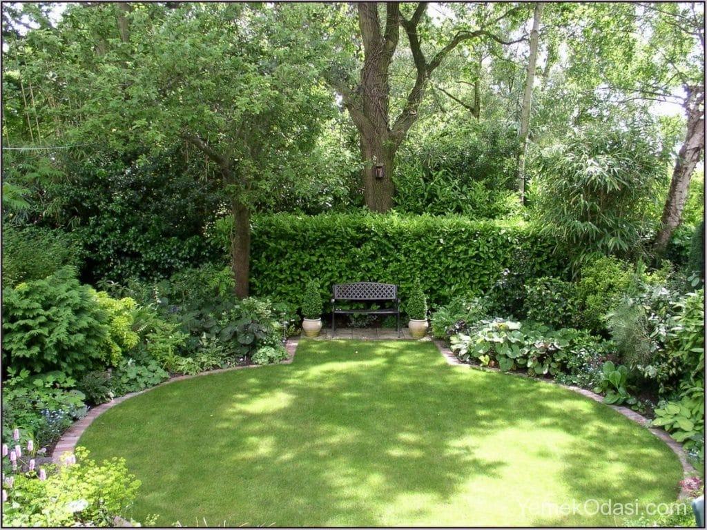 Bahçe Çimi Ve Dinlenme Alanı