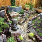 Bahçe İçi Minyatür Dere