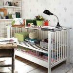 Geri dönüşüm projeleriyle eski bebek beşikleri