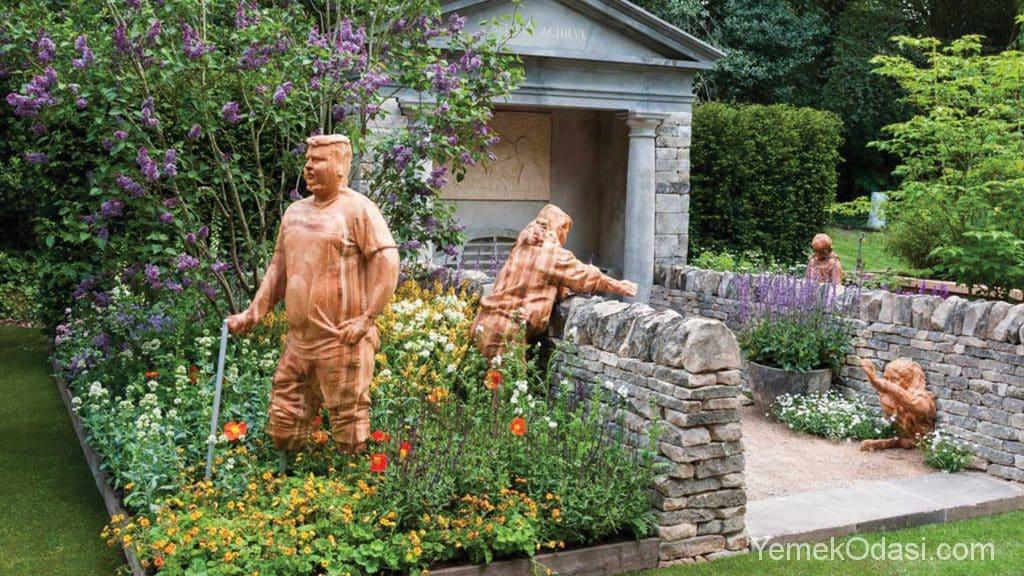 Geniş Bahçeler İçin Dekorasyon Aksesuarları 1