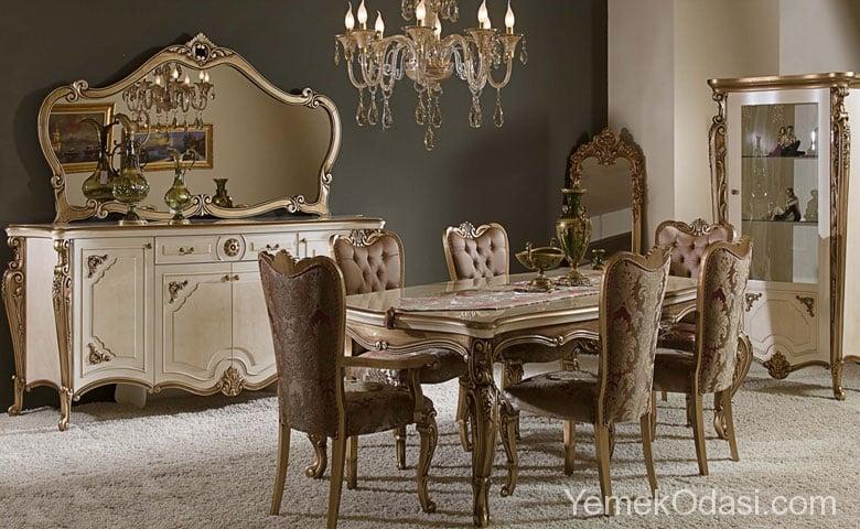 Klasik Yemek Odası Modelleri 1