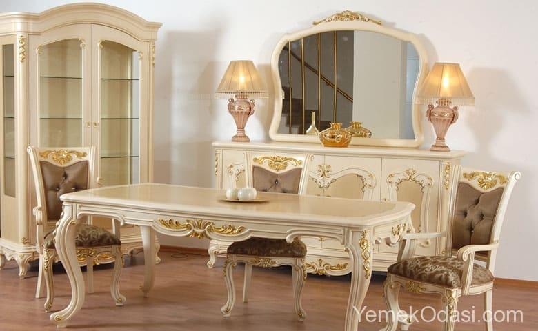 Klasik Yemek Odası Modelleri 2