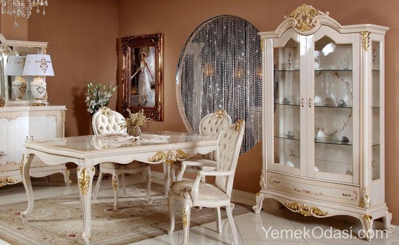 Klasik Yemek Odası Modelleri 3
