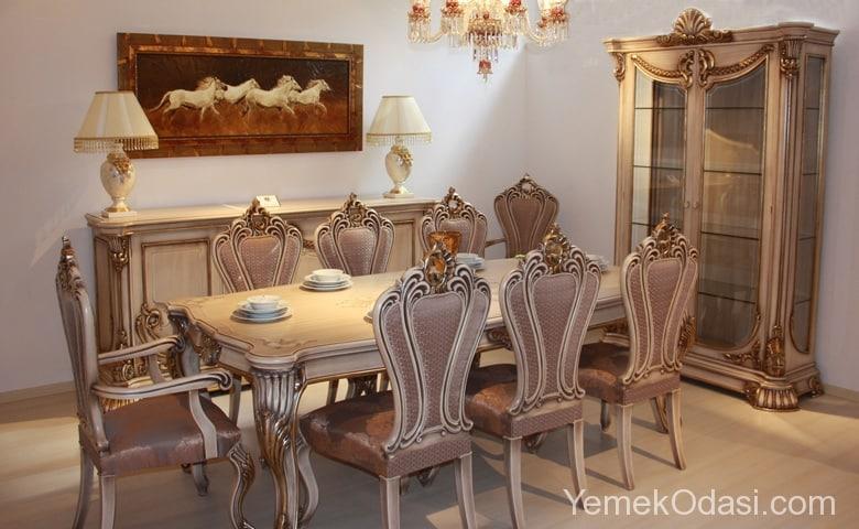 Klasik Yemek Odası Modelleri 5