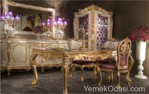 Klasik Yemek Odası Modelleri 6