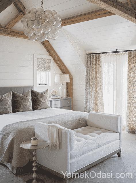 Modern yatak odas dekorasyonlar ve yatak odas avize for Beautiful bedroom pictures only