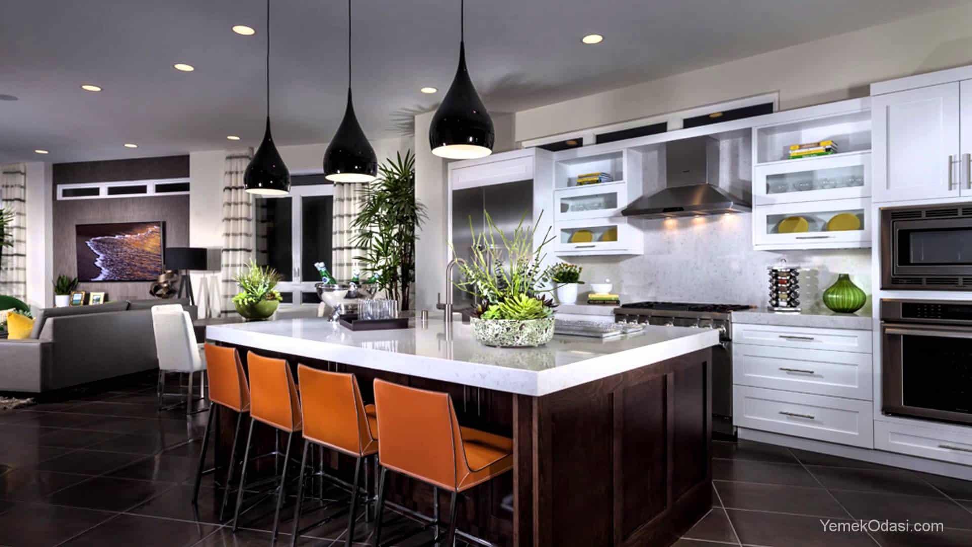 Mutfak ayd nlatma nerileriyle mutfaklar n ambiyans n for Picture perfect kitchens