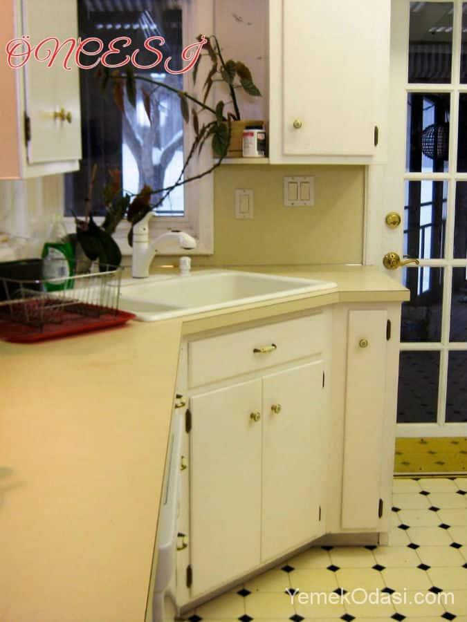 Öncesi ve Sonrası Mutfak Dekorasyonu 1