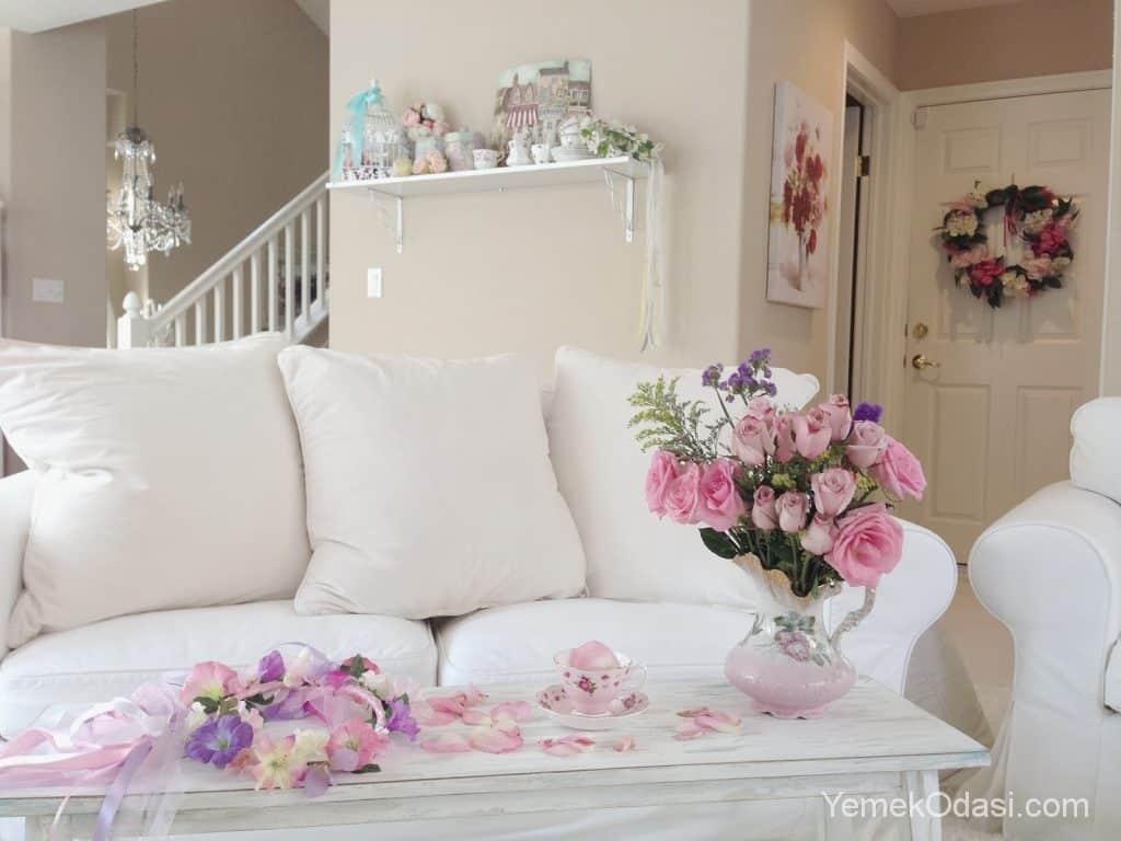 Romantik Ev Dekorasyon Fikirleri 1