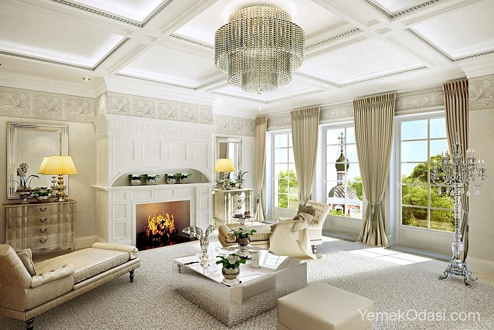 Salonlarınızı Ağırlaştıracak Klasik Perde Modelleri 1