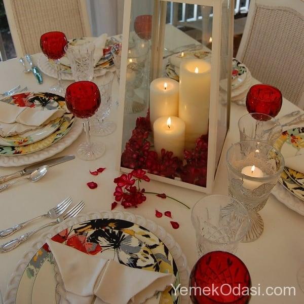 Sevgililer Günü Masa Süslemesi 4