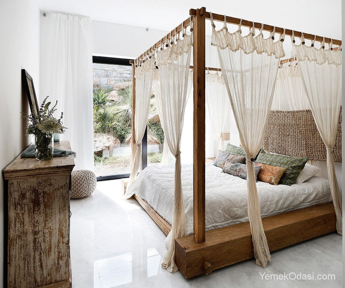 Yatak Odalarının Vazgeçilmezi Cibinlikli Yatak Modelleri 1