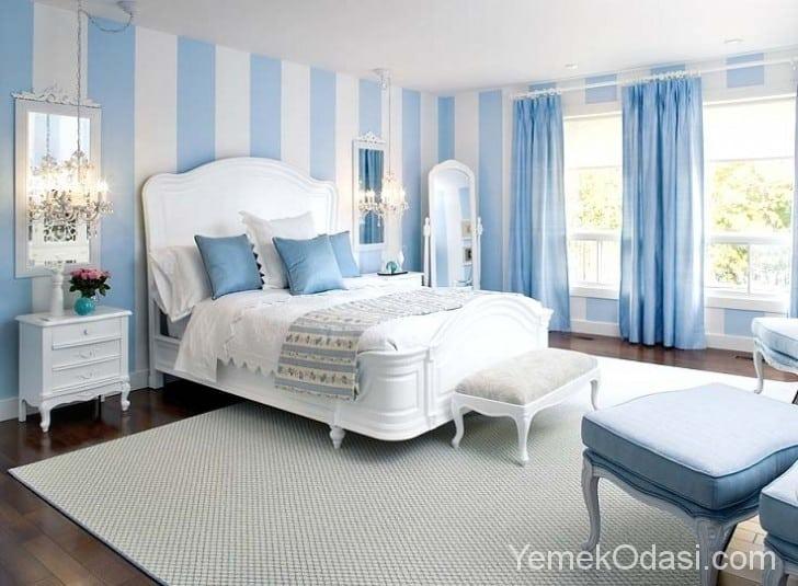 Yatak Odası Dekorasyonunda Renk Seçimi 1