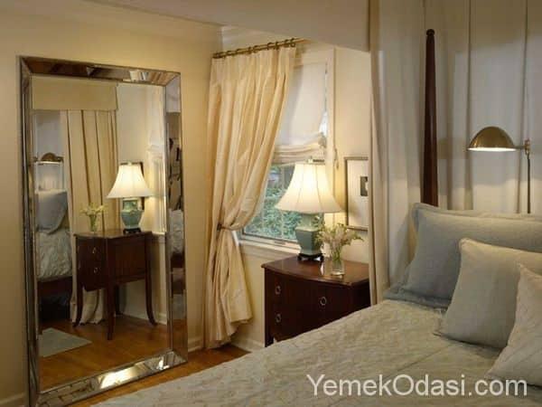 Yatak Odasında Ayna Kullanımı 1