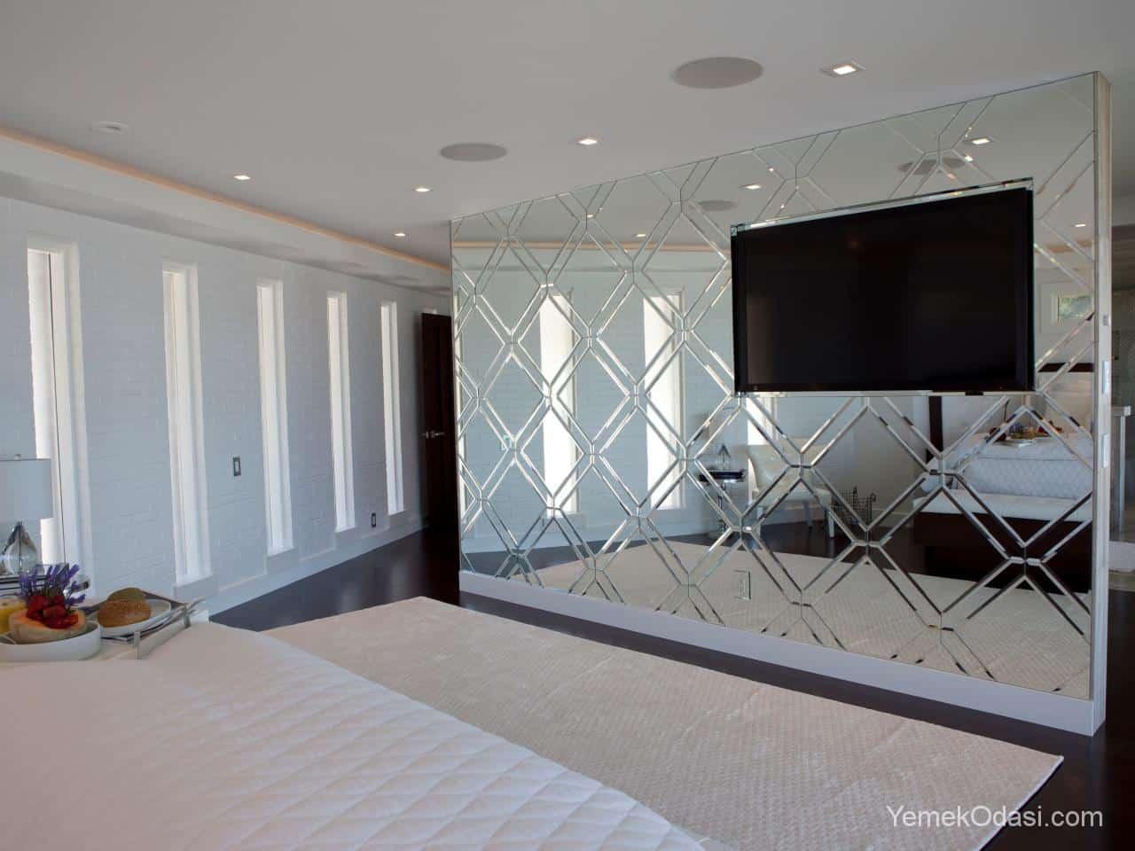 Yatak Odası Tavan Ayna Modelleri