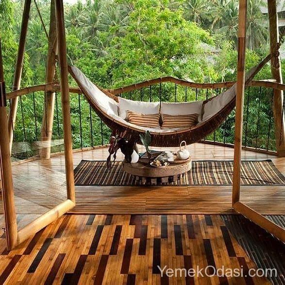İlginç Dekorasyon Fikirleri: Dünyadaki En İlginç Balkon Ve Teras Dekorasyonları