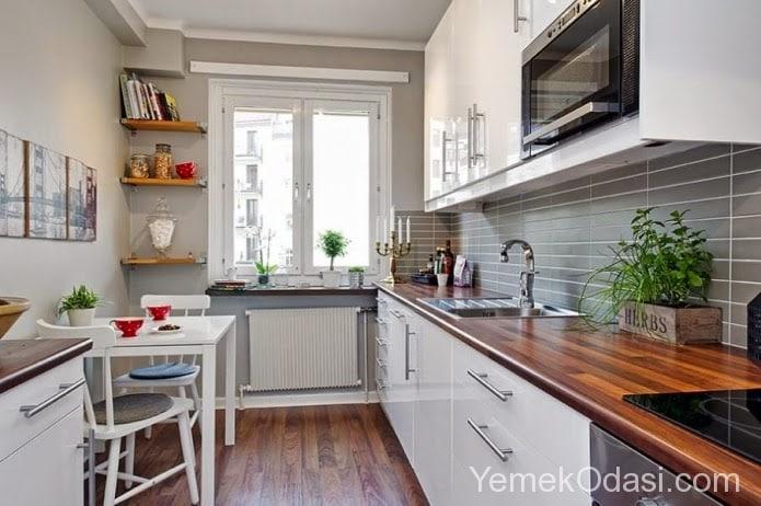 dar mutfaklarda dekorasyon yemek odas ve dekorasyon