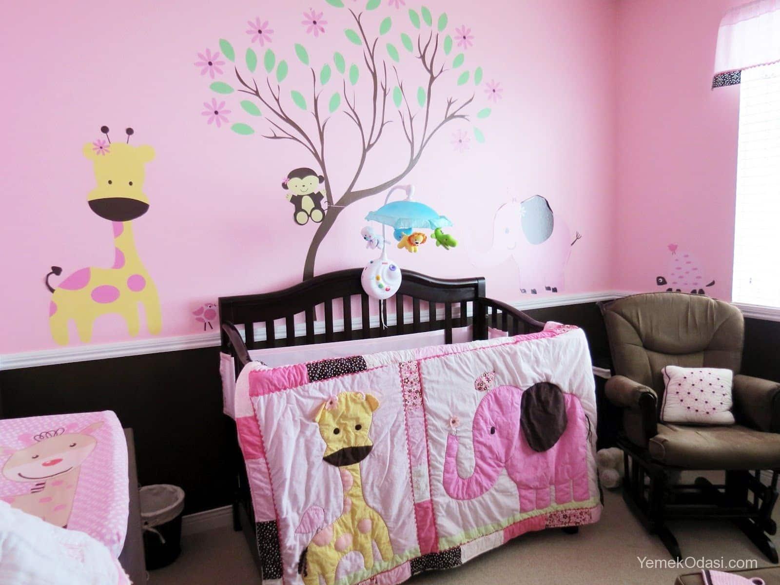 K z bebek odas dekorasyonu yemek odas - Beautiful girls bedroom furniture ...