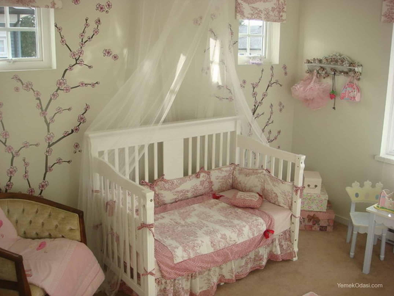 Kız Bebek Odası Dekorasyonu Yemek Odası