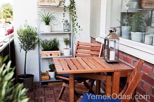 Kucuk Balkon Dekorasyon Fikirleri 9 Yemek Odasi Ve Dekorasyon