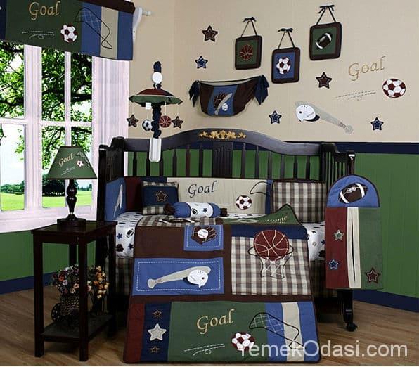Erkek Bebek Odası İçin Dekorasyon Fikirleri 1