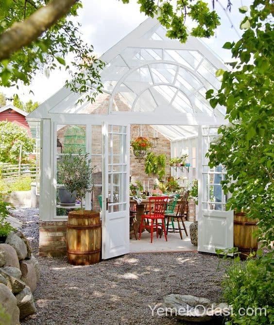 Kış Bahçesi Dekorasyonu