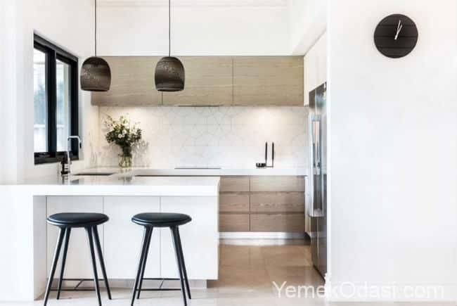Mutfak dekorasyonunda Fayans