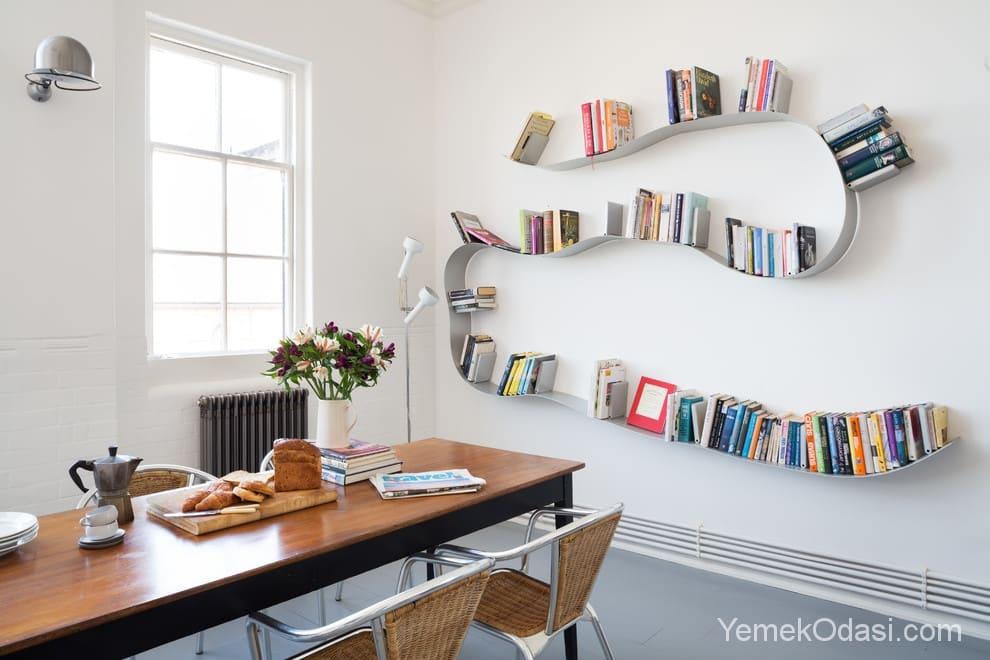 Mutfakta Kitaplık