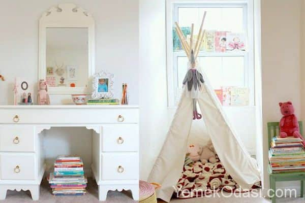 Çocuk Odası İçin Eğlenceli Çadır Fikirleri 1