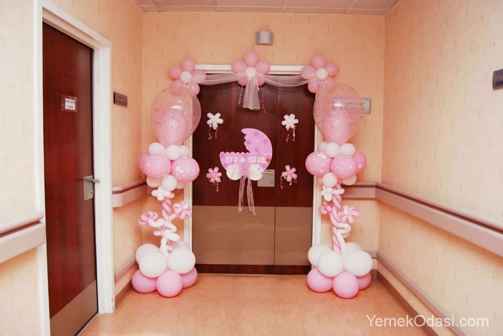 Hastane odası kapı süslemeleri