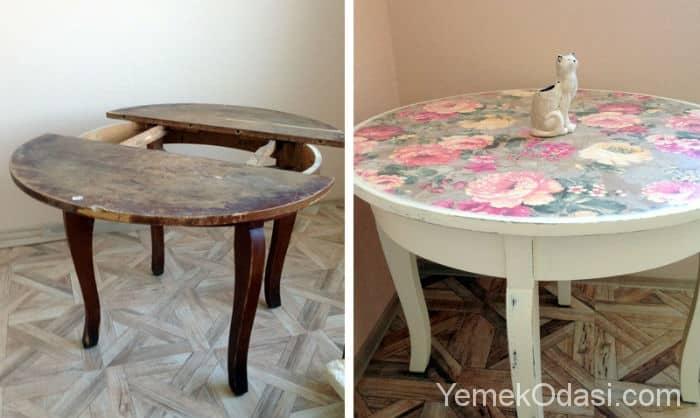 Как и старого стола сделать новый