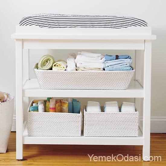 Bebek Odası İçin Alt Değiştirme Üniteleri 1