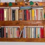 palet kitaplık