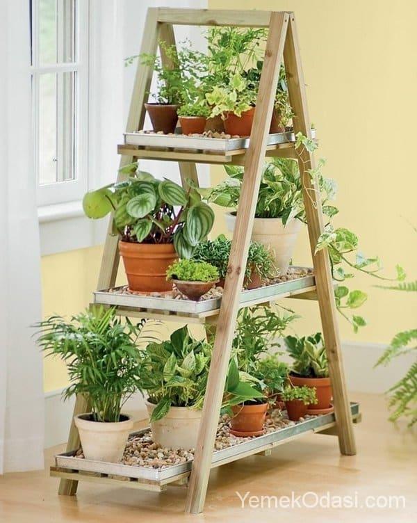 eski merdivenler ile kendin yap projeler