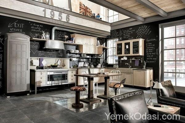 mutfakta kara tahta fikirleri