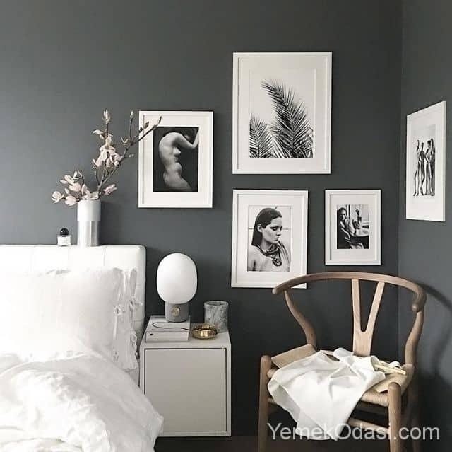Grey Bedrooms Grey Bedroom Walls And Grey Walls: Gri Yatak Odası Dekorasyonu