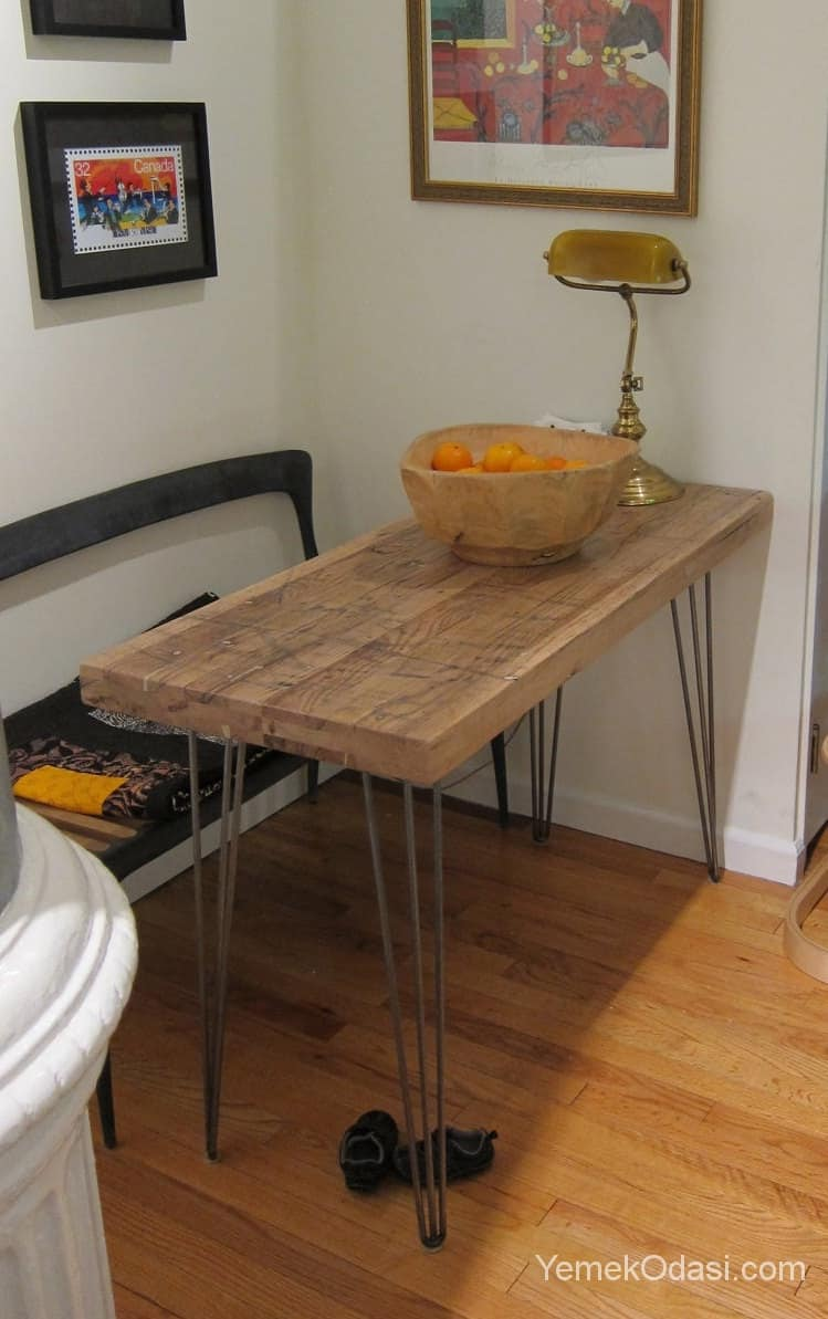 K k mutfaklar in masa modelleri yemek odas ve dekorasyon - Small kitchen tables and chairs for small spaces photos ...