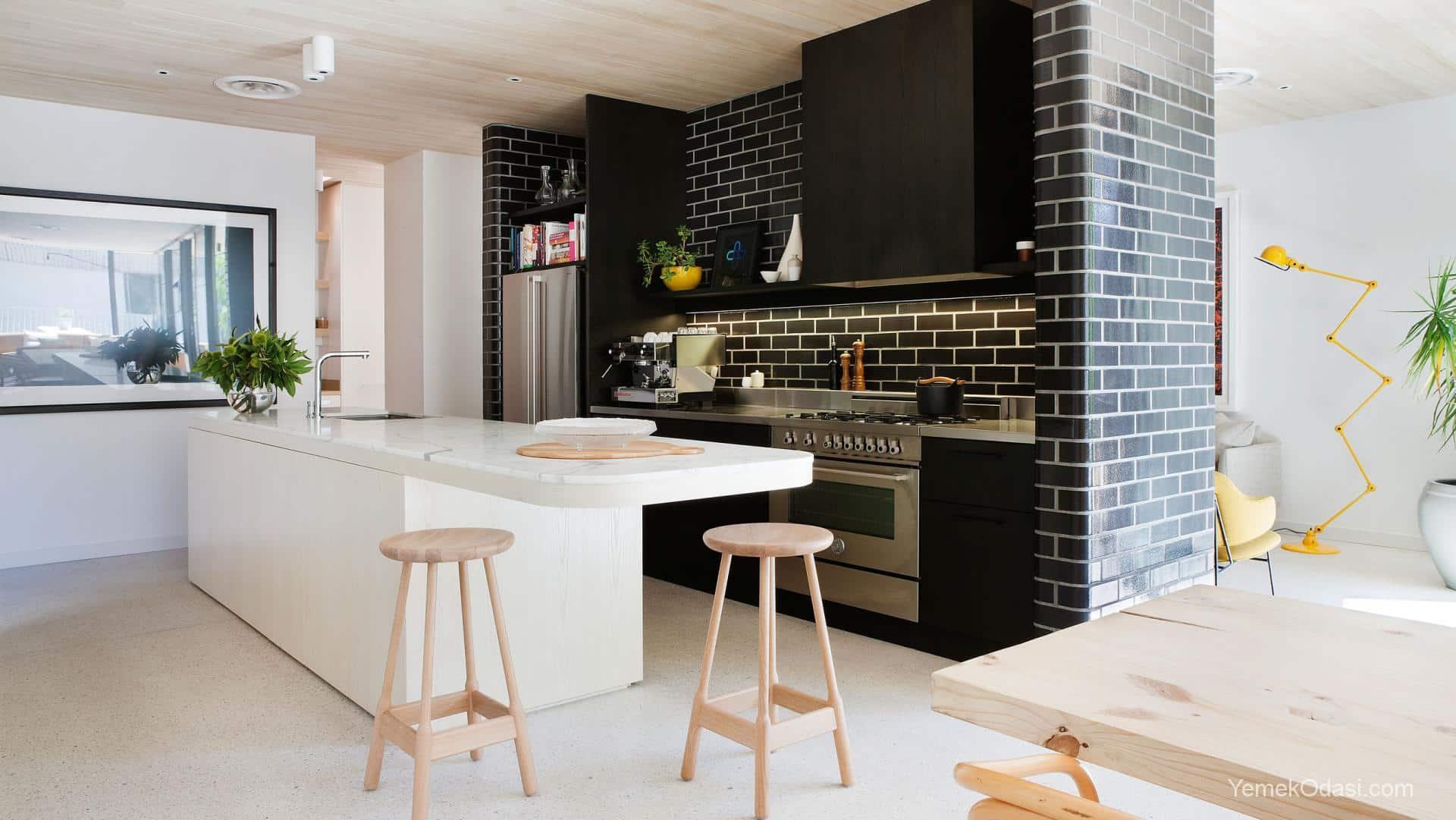 Modern mutfak dekorasyon rnekleri 2017 yemek odas ve - Contemporary kitchen designs 2017 ...