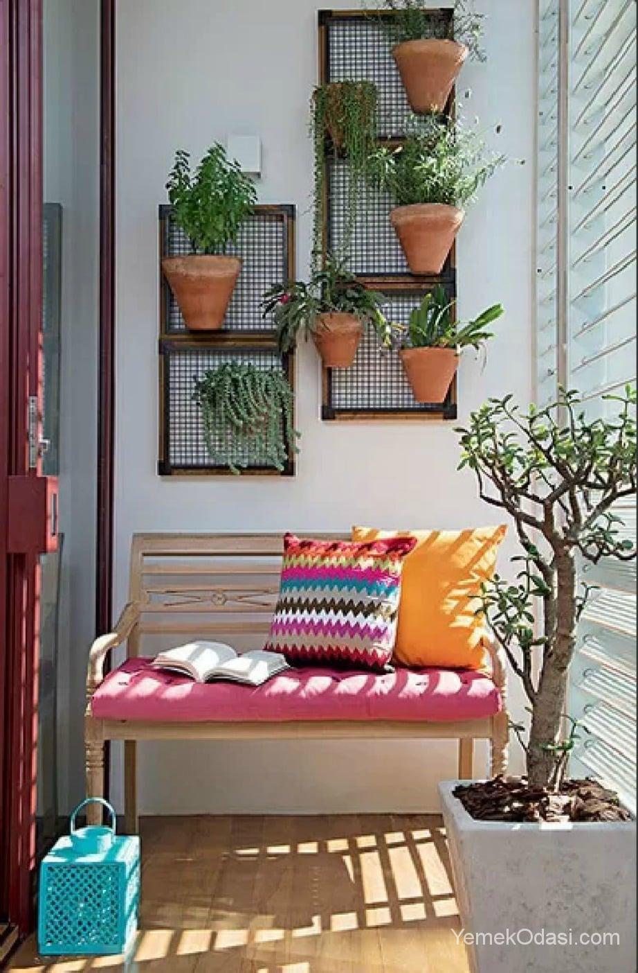 Küçük balkonlar için dekorasyon önerileri