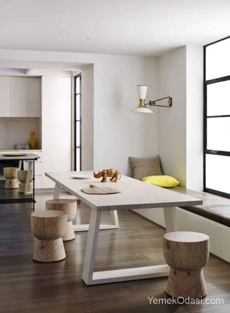 Modern yemek masas modelleri yemek odas ve dekorasyon for Eethoek modern