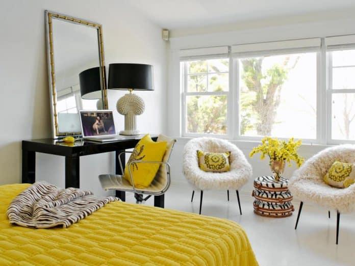 Ev Dekorasyonunda Sarı Kullanımı