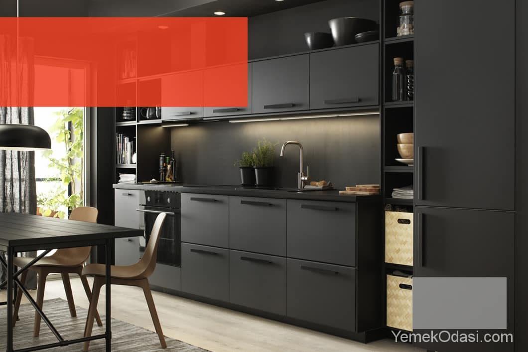 ikea mutfak modelleri yemek odas ve dekorasyon. Black Bedroom Furniture Sets. Home Design Ideas