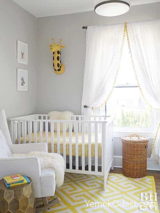 Modern Bebek Odası Dekorasyon Fikirleri 1 Yemek Odası Ve